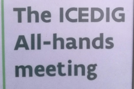 ICEDIG partners meeting in Brussels.