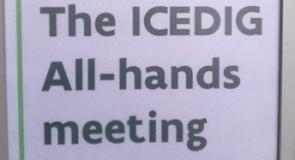 ICEDIG partners meeting in Brussels.