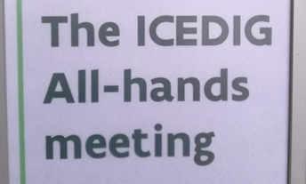 #2 All Hands Meeting for ICEDIG.