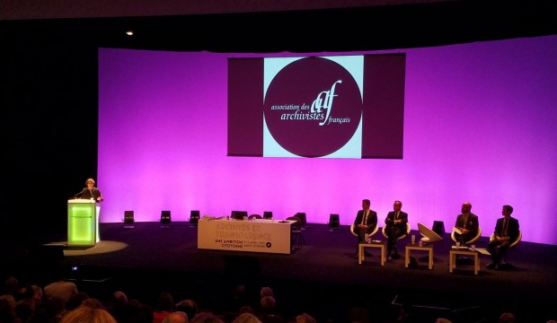 Forum des archivistes AAF à Saint Etienne ça commence !