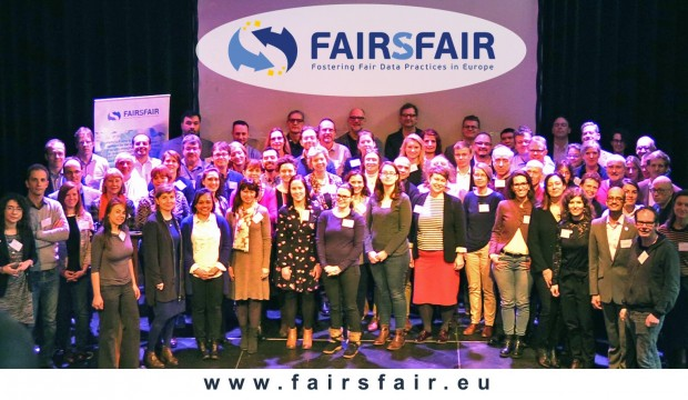 Launch meeting of the European project FAIRsFAIR in Amsterdam