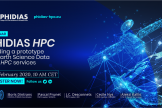 Webinar « PHIDIAS HPC – Building a prototype for Earth Science Data and HPC Services »