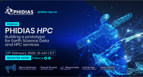 """Webinar """"PHIDIAS HPC – Building a prototype for Earth Science Data and HPC Services"""""""